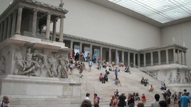 El museo de Pérgamo, Berlín