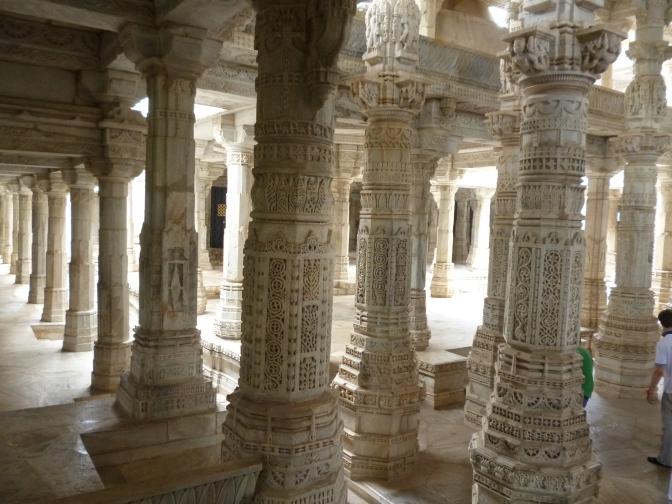 Ranakpur, el bosque de piedra