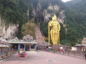 Batu Caves, estatua de Murugan